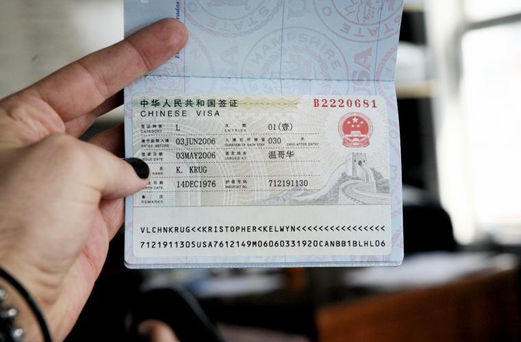 Dina Tva Satt Att Ansoka Om Visum Till Kina